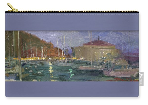 Nite Avalon Harbor - Catalina Island Carry-all Pouch