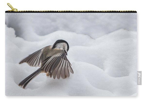 Chickadee - Wings At Work Carry-all Pouch