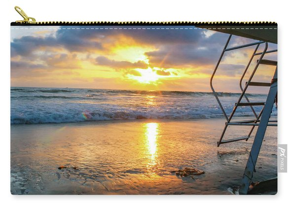 No Lifeguard On Duty Carry-all Pouch