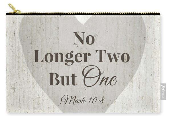 No Longer Two- Art By Linda Woods Carry-all Pouch