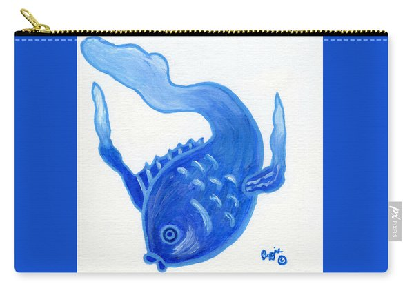 No Name Fish Carry-all Pouch