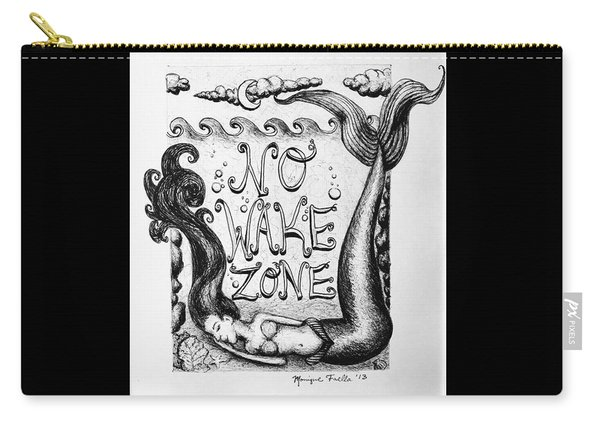 No Wake Zone, Mermaid Carry-all Pouch