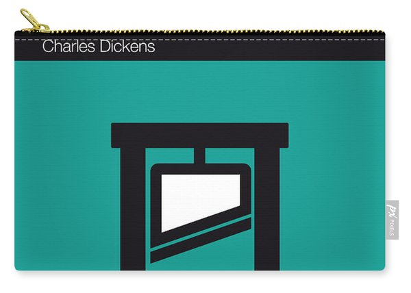 No009 My Tale Of Two Cities Book Icon Poster Carry-all Pouch