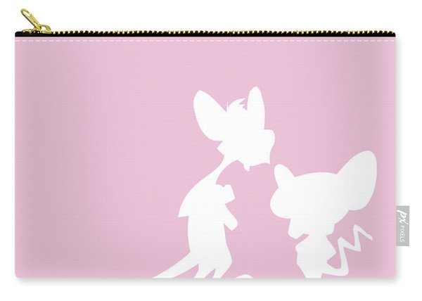 No01 My Minimal Color Code Poster Pinky And The Brain Carry-all Pouch