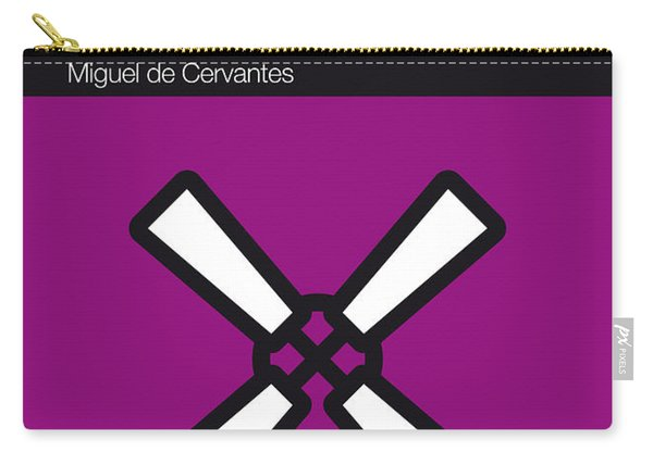 No027-my-don Quixote-book-icon-poster Carry-all Pouch