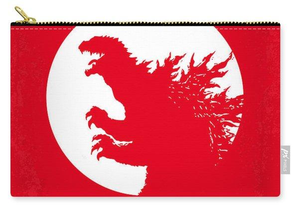 No029-1 My Godzilla 1954 Minimal Movie Poster Carry-all Pouch