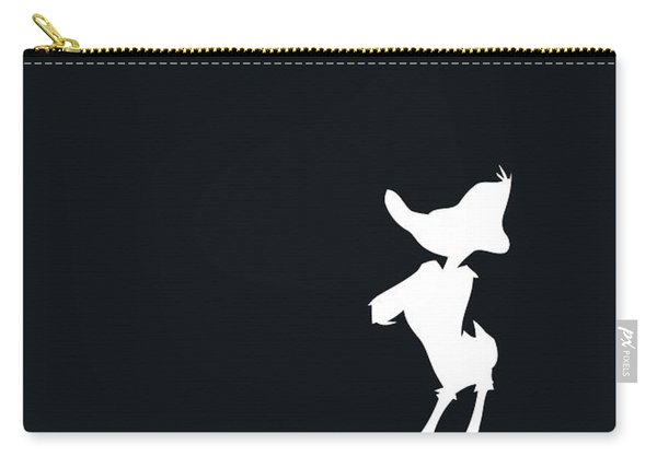 No03 My Minimal Color Code Poster Daffy Duck Carry-all Pouch