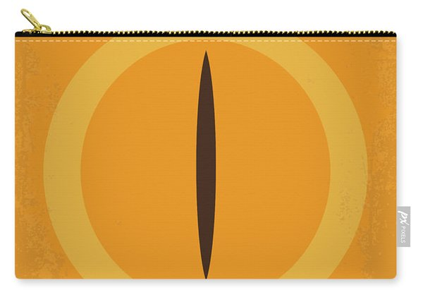No039-1 My Lotr 1 Minimal Movie Poster Carry-all Pouch