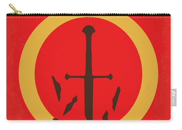 No039-3 My Lotr 3 Minimal Movie Poster Carry-all Pouch