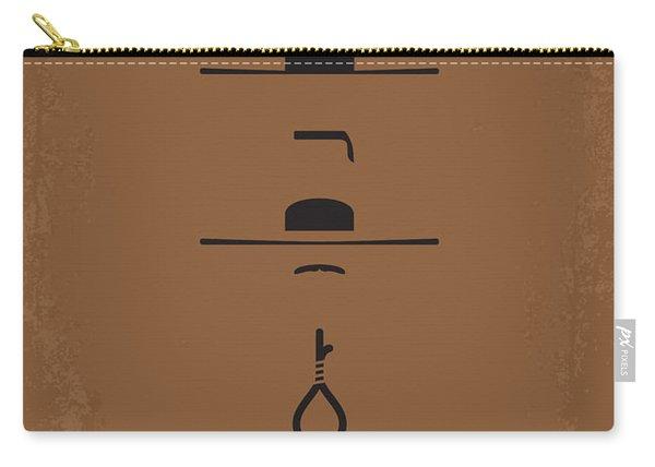 No042 My Il Buono Il Brutto Il Cattivo Minimal Movie Poster Carry-all Pouch