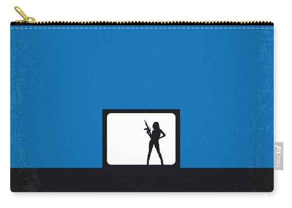No044 My Jackie Brown Minimal Movie Poster Carry-all Pouch