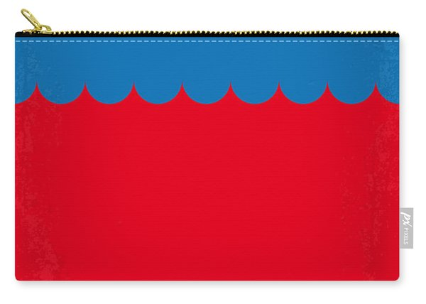 No046 My Jaws Minimal Movie Poster Carry-all Pouch