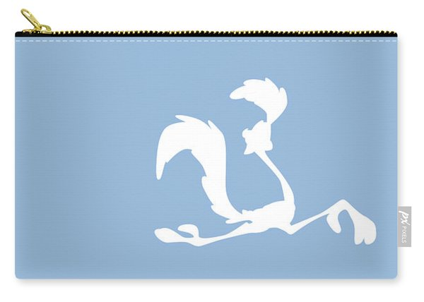 No05 My Minimal Color Code Poster Road Runner Carry-all Pouch