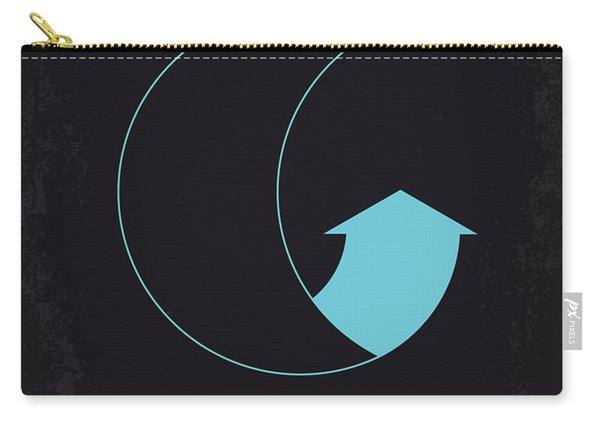 No053 My Moon 2009 Minimal Movie Poster Carry-all Pouch
