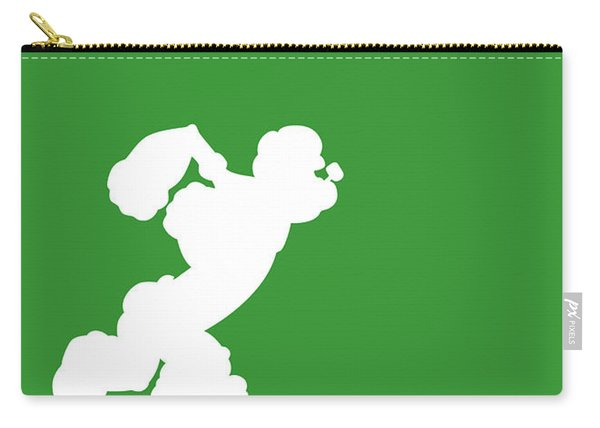 No07 My Minimal Color Code Poster Popeye Carry-all Pouch