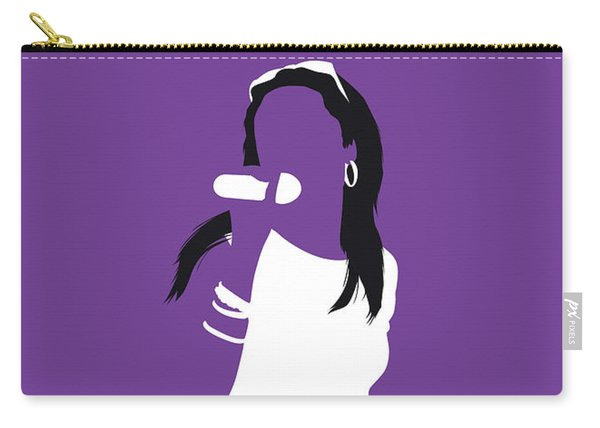 No071 My Aaliyah Minimal Music Poster Carry-all Pouch