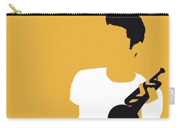 No084 My Chet Baker Minimal Music Poster Carry-all Pouch
