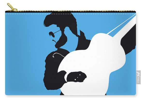 No089 My George Michael Minimal Music Poster Carry-all Pouch