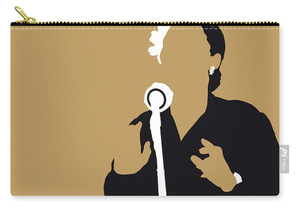 No090 My Billie Holiday Minimal Music Poster Carry-all Pouch