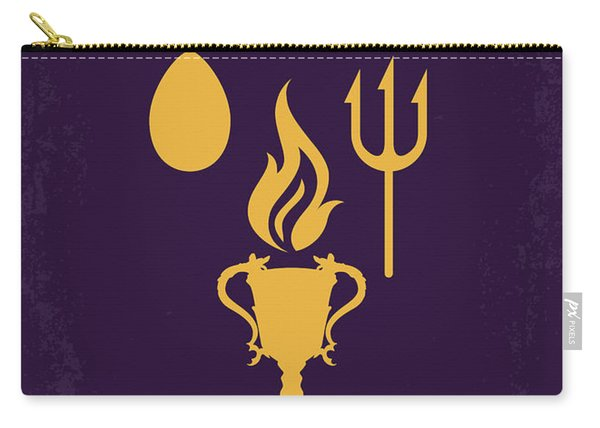 No101-4 My Hp - Goblet Of Fire Minimal Movie Poster Carry-all Pouch