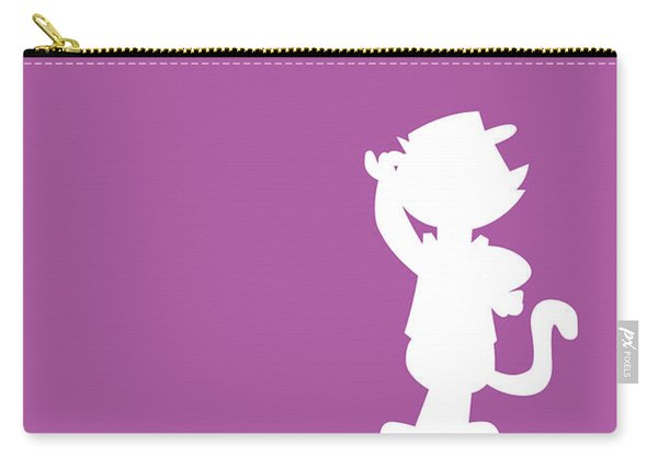 No11 My Minimal Color Code Poster Top Cat Carry-all Pouch