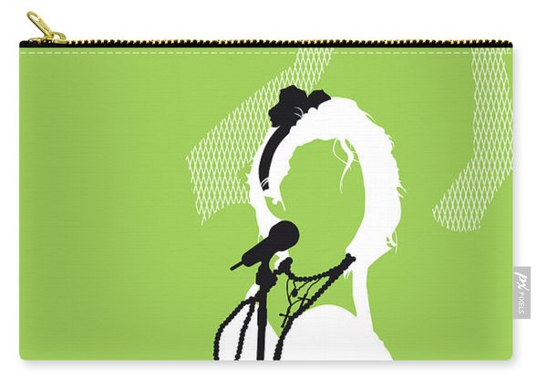 No116 My Madona Minimal Music Poster Carry-all Pouch