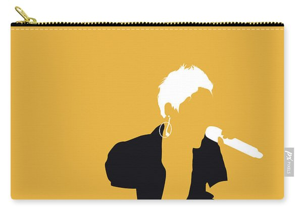 No134 My Pink Minimal Music Poster Carry-all Pouch