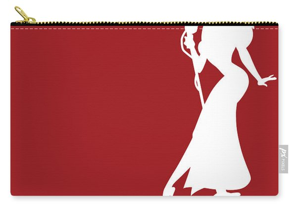 No14 My Minimal Color Code Poster Jessica Rabbit Carry-all Pouch