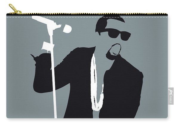 No157 My Kanye West Minimal Music Poster Carry-all Pouch
