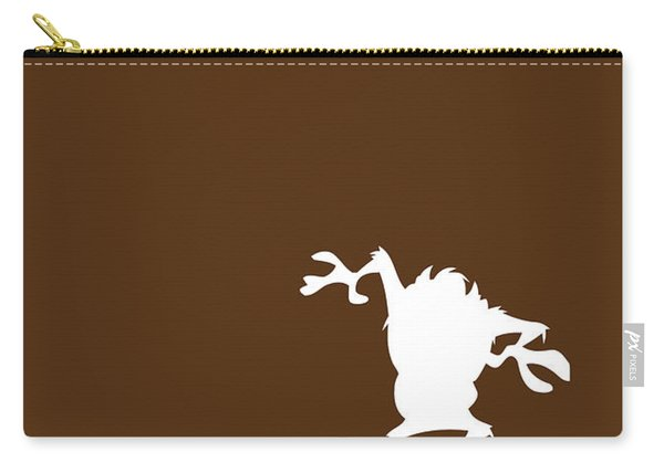 No16 My Minimal Color Code Poster Tasmanian Devil Carry-all Pouch