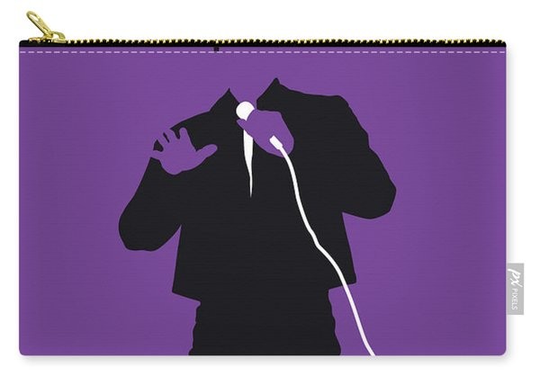 No161 My Smokey Robinson Minimal Music Poster Carry-all Pouch