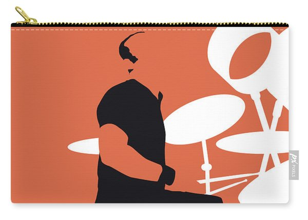 No163 My Phil Collins Minimal Music Poster Carry-all Pouch