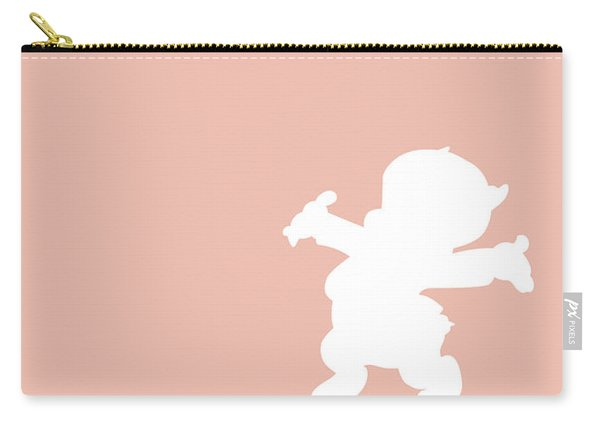 No17 My Minimal Color Code Poster Porky Pig Carry-all Pouch