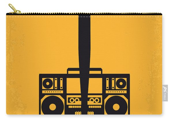 No179 My Do The Right Thing Minimal Movie Poster Carry-all Pouch