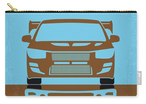 No207-2 My 2 Fast 2 Furious Minimal Movie Poster Carry-all Pouch
