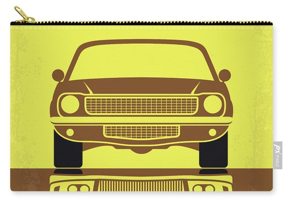 No207-3 My Tokyo Drift Minimal Movie Poster Carry-all Pouch