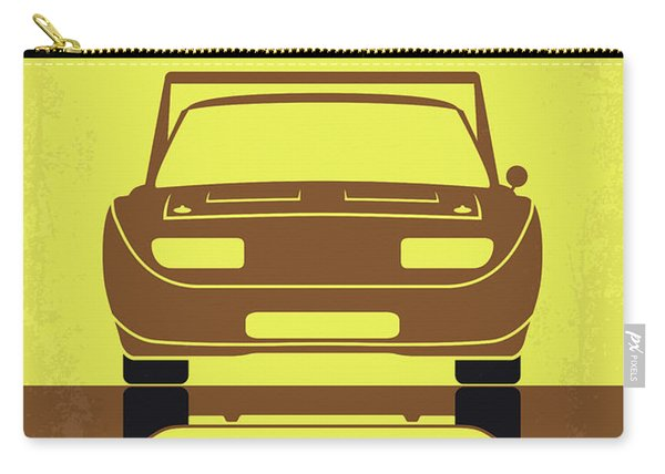 No207-6 My Furious 6 Minimal Movie Poster Carry-all Pouch