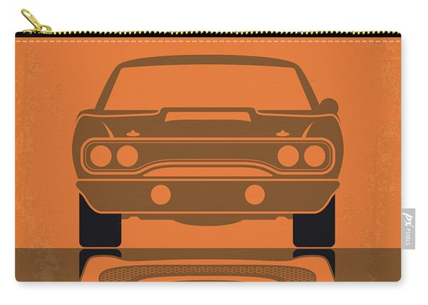 No207-7 My Furious 7 Minimal Movie Poster Carry-all Pouch