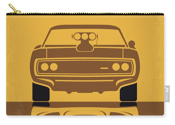 No207 My The Fast And The Furious Minimal Movie Poster Carry-all Pouch
