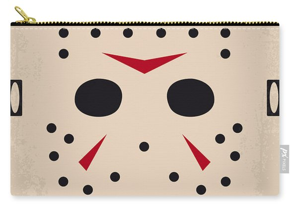 No449 My Friday The 13th Minimal Movie Poster Carry-all Pouch