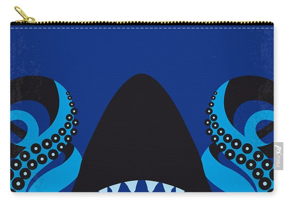 No485 My Sharktopus Minimal Movie Poster Carry-all Pouch