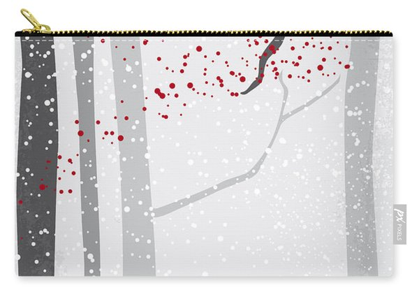 No502 My Hateful Eight Minimal Movie Poster Carry-all Pouch