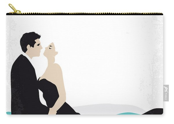 No529 My La Dolce Vita Minimal Movie Poster Carry-all Pouch
