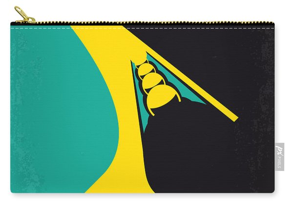 No538 My Cool Runnings Minimal Movie Poster Carry-all Pouch