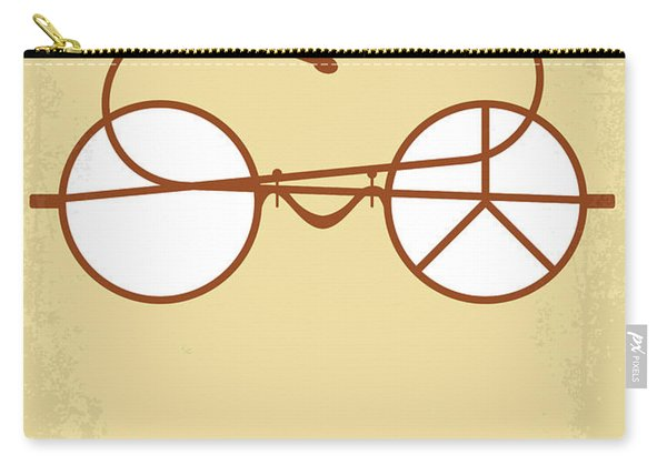 No543 My Gandhi Minimal Movie Poster Carry-all Pouch