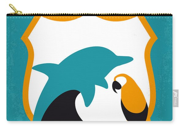 No558 My Ace Ventura Minimal Movie Poster Carry-all Pouch