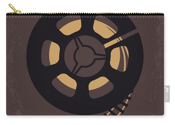 No578 My Super 8 Minimal Movie Poster Carry-all Pouch