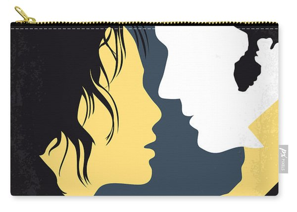 No584 My Pride And Prejudice Minimal Movie Poster Carry-all Pouch
