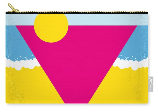 No603 My Cocktail Minimal Movie Poster Carry-all Pouch