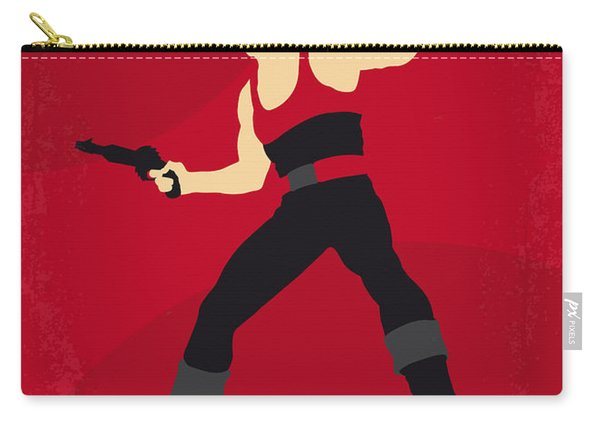 No632 My Flash Gordon Minimal Movie Poster Carry-all Pouch